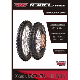 Neumático Moto Rebel Enduro Xstar Hard ROJA 90/90-21 54P